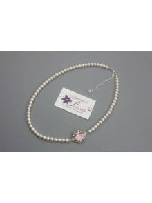 Rose-may collier de mariage rétro et cabochon en cristal