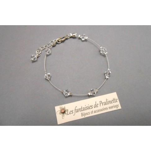 Bracelet Cecylia parsemé de cristaux