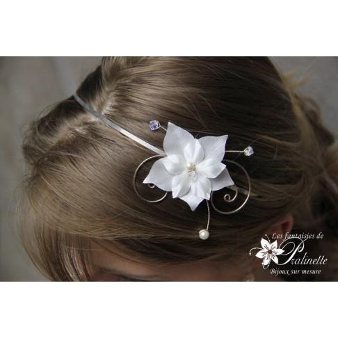 Serre-tête headband mariage Calixte