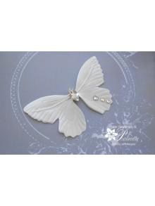 Papillon Céleste bijou de peau mariage en satin