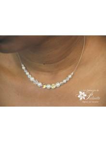 Jiléna collier de mariée tour de cou en cristal