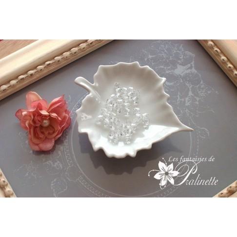 Ajout de perles en cristal