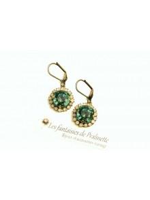 Boucles d'oreilles strass et cristal, bijoux mariage, bijoux intemporels, lovely bridemaids earrings