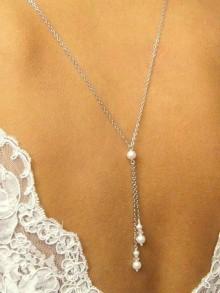 Collier de dos bijoux mariage Loan