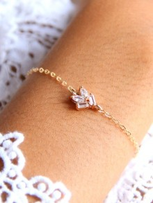 Bracelet de mariage Pacôme minimaliste