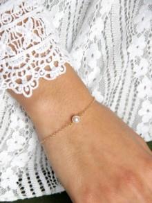 Bracelet de mariage Ethan en plaqué or