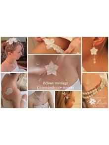 Commande personnalisée bijoux mariage