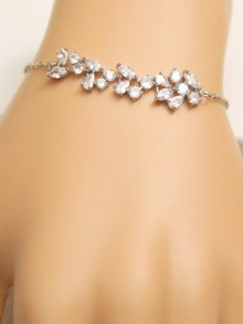 Bracelet de mariage strass - Prêt à porter