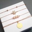 Bijoux  plaqué-or et argent
