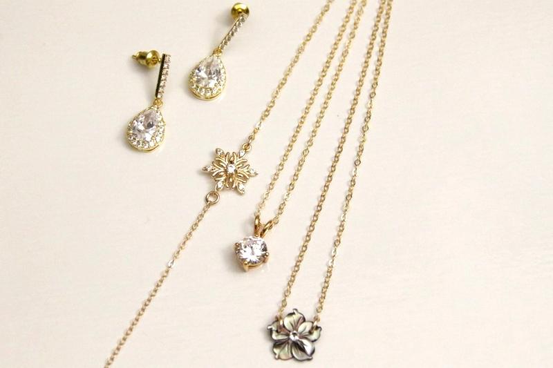 bijoux intemporels en plaqué-or