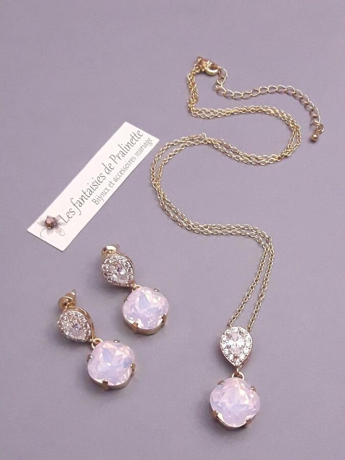 bijoux-mariage-zircons-et-cristal-rose-o