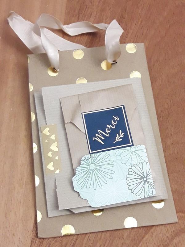 Emballage bijoux mariage pochettes et sac kraft