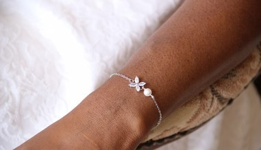 Bracelet de mariage rétro vintage en perles et strass, bracelets bohème chic pour la mariée